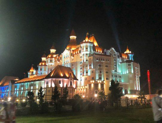 Bogatyr hotel, Sochi Russia