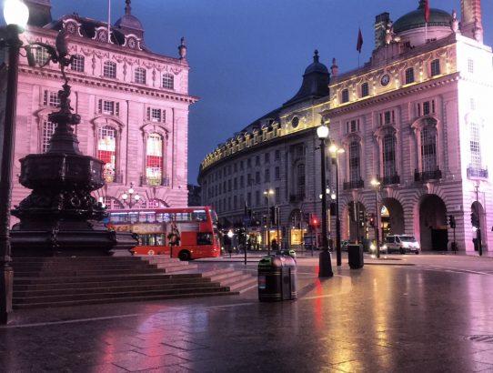 Piccadilly Circus, London UK