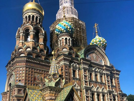 Church of the Savior on Blood, Saint Petersburg Russia