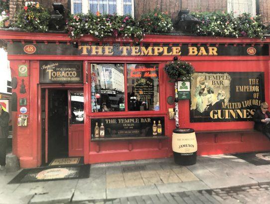 The Temple Bar Pub, Ireland