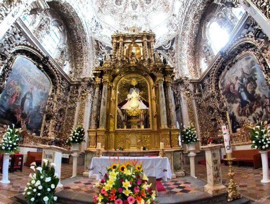 Capilla del Rosario, Puebla, Mexico