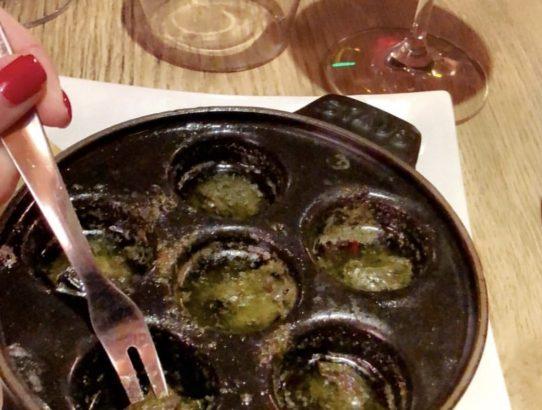 Escargots, French Delicacy