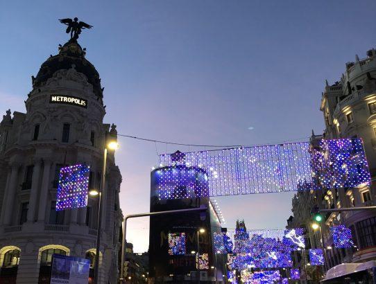 Christmas in Madrid, Spain !